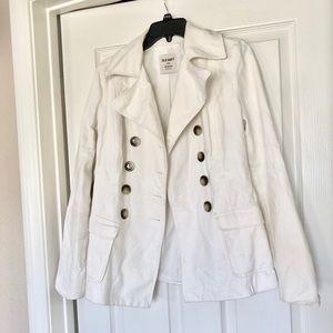 Old Navy White Coat